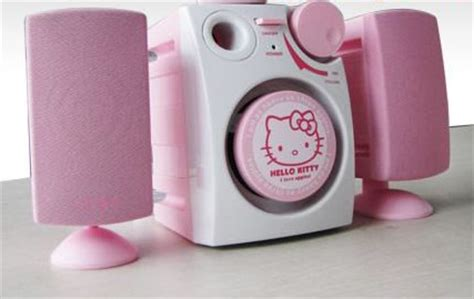 Speaker Big Hello Kity Warnai Musikmu would to the brand of the pink top pink top