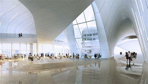 The Curve Floor Plan by Zaha Hadid S Heydar Aliyev Cultural Centre Turning A