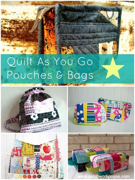 Quilt As You Go Bag by 17 Best Images About Quilt On Bags Hexagons