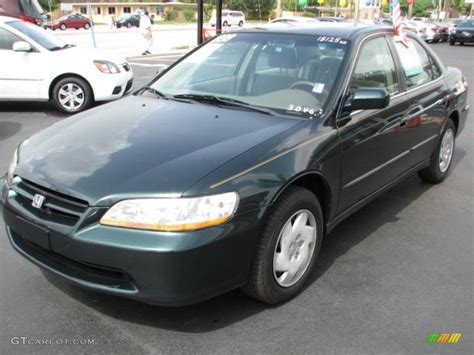 new green pearl 1998 honda accord lx v6 sedan