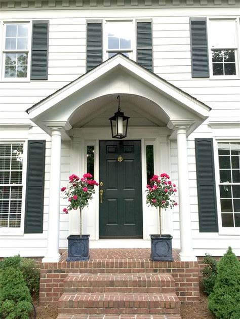 colonial front door surrounds home door ideas front door styling and accessory ideas colonial house