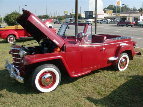 willys jeepster willys overland jeepster seen on the