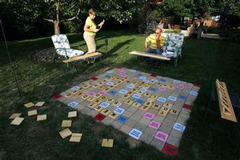 lawn scrabble pin by unruh on outdoor ideas