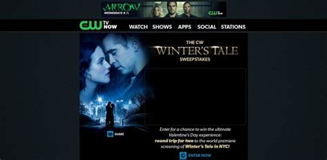 Cw Sweepstakes - cwtv com winterstale cw winter s tale sweepstakes