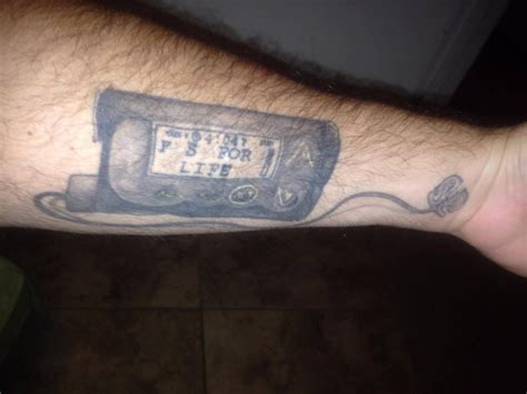 t1d tattoo diabetic ink