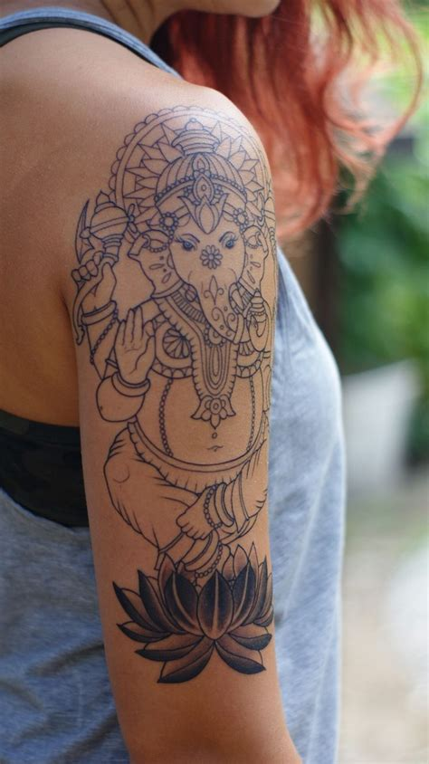 lord ganesha tattoo best 25 ganesha ideas on ganesha