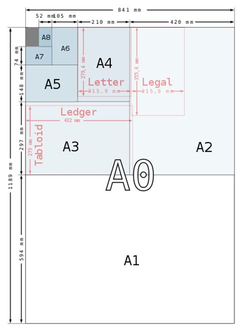 File A Size Illustration2 With Letter And Legal Svg What Is The Length And Width Of A Bed