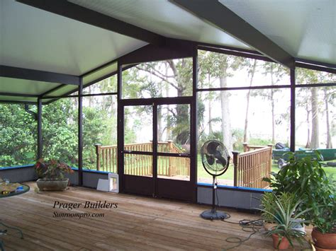 florida screen room screen room winter springs florida prager builders sunroom pro
