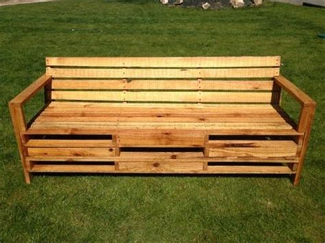 simple pallet bench simple ways to make pallet benches pallets designs
