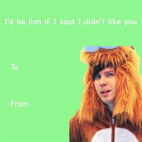 phan valentines sav per dan and phil valentines i made