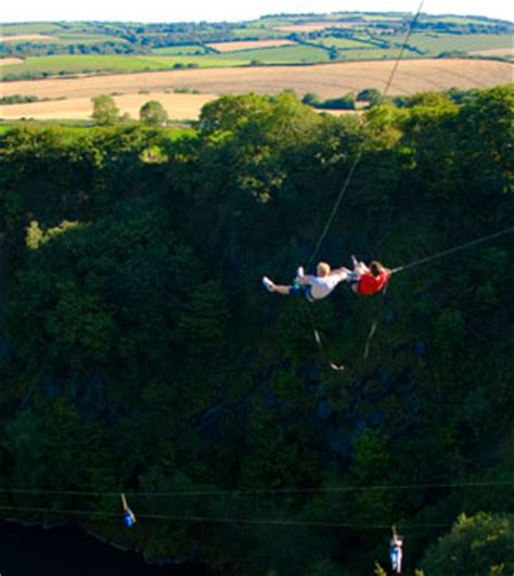 swinging in cornwall giant swing in cornwall adrenalin quarry