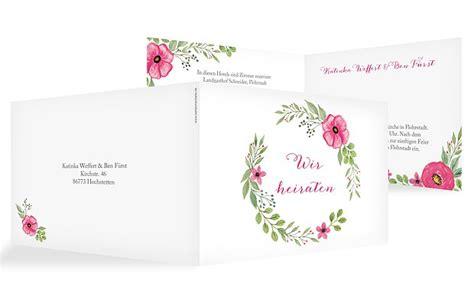 Hochzeitseinladung Floral by Hochzeitseinladung Quot Floral Quot