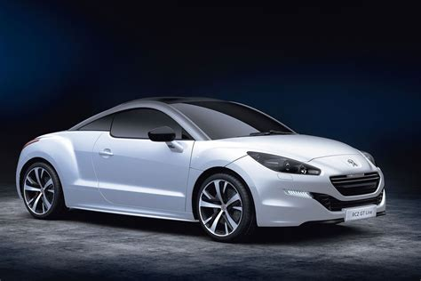 peugeot sports car 2016 peugeot rcz gt line revealed with sportier look for basic