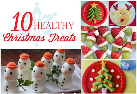 image gallery healthy christmas treats
