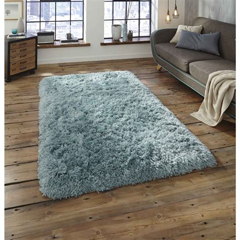 polar light blue shaggy rug braddicks furnishers ltd
