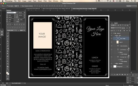 tri fold menu template photoshop design templates menu templates wedding menu food menu bar menu template bar menu