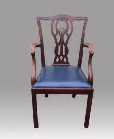 set of twelve antique mahogany dining room chairs