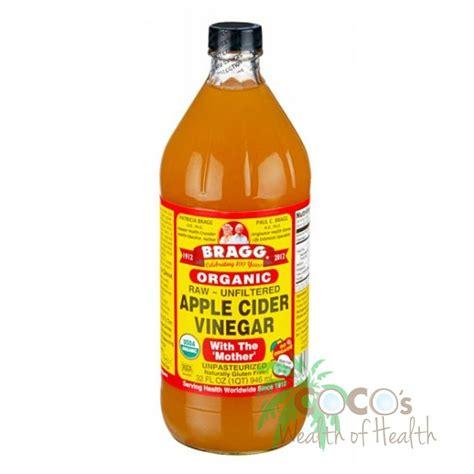 Certified Organic Apple Cider Vinegar Detox Tonic by Apple Cider Vinegar 946ml