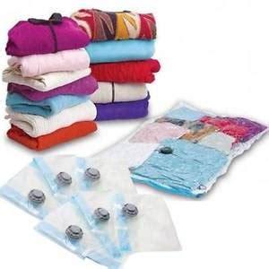 buste sottovuoto per piumoni 5 sacchetti buste sottovuoto 68x98 salva spazio per abiti