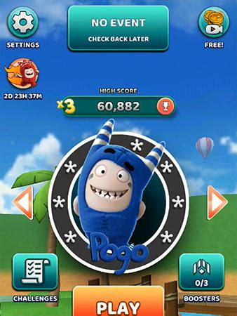 oddbods turbo run  android baixar gratis  jogo