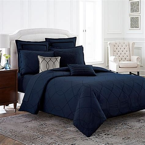 bed bath and beyond davenport wamsutta 174 davenport duvet cover in blue bed bath beyond