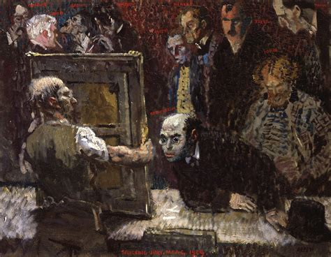 painting new file the selecting jury of the new club 1909