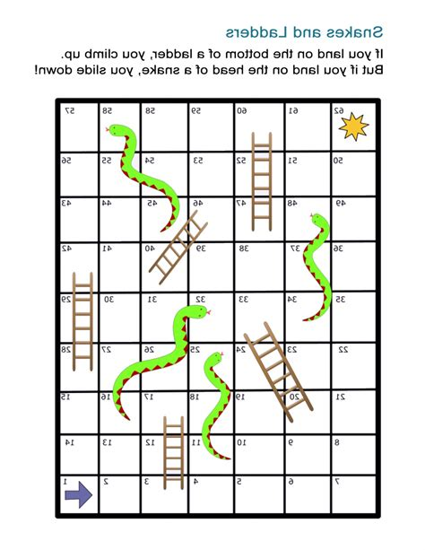 printable snakes and ladders template snakes and ladders template word image collections