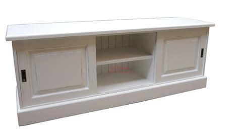 porta tv in legno massello mobile porta tv con ante scorrevoli legno massello