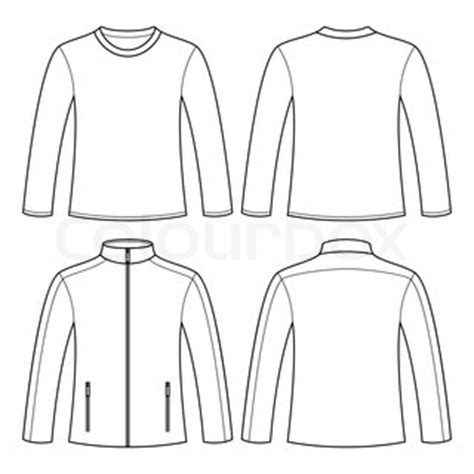 Kaos Class Generik blank jacket template thumb colourbox7936520 templates data