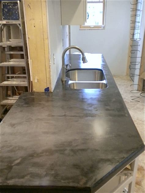 Ardex Countertop by Diy Ardex Concrete Counters How Well Do They Hold Up