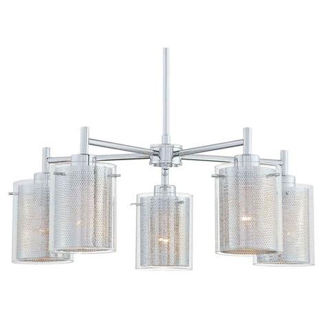 george kovacs chandelier george kovacs 5 light chrome chandelier p965 077 the