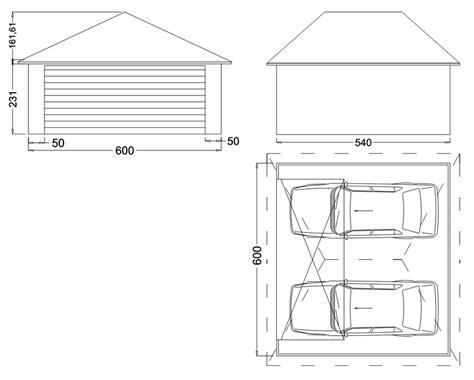garage m 233 tallique cr 233 pis 2 voitures 1 porte toit en croupe