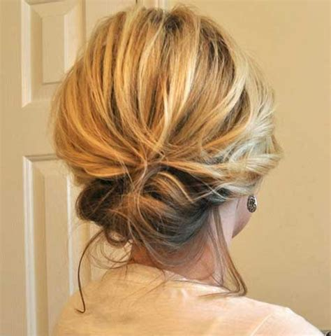 updo hairstyles for short hair easy quick and easy hairstyles for short hair short hairstyle