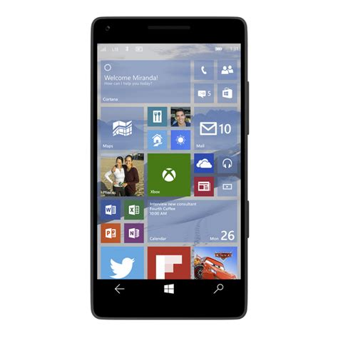 mobile version microsoft announces mobile version of windows 10