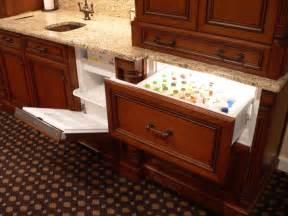 Under Cabinet Wine Cooler Custom Bar Designs Traditional Basement Other Metro