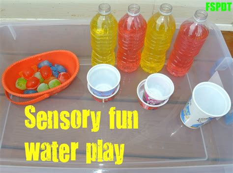 sensory water sensory water great way to disguise learning fspdt