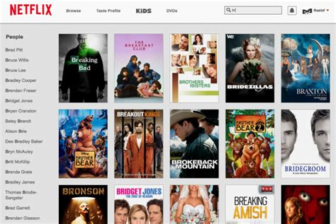 New Search Website Netflix Website Gets A Makeover With New Search Interface