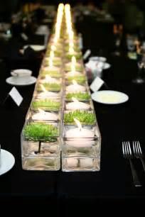 table centerpieces minimal floral centerpieces