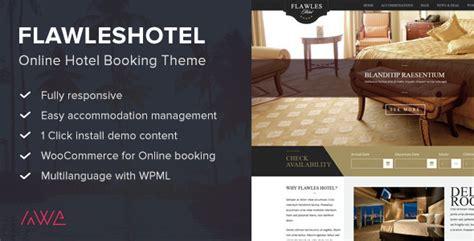 theme hotel online 55 beautiful responsive travel wordpress themes