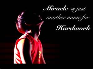 my favorite quote miracle is just another name for