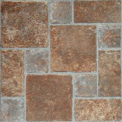 vinyl floor tiles  adhesive peel  stick stone basement flooring  ebay