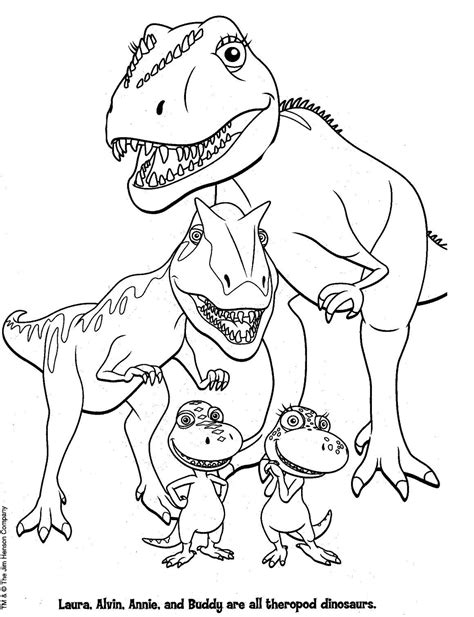 Coloring Page Of coloring pages dinosaur coloring pages