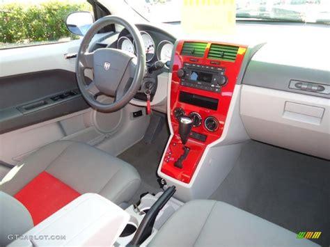 automotive service manuals 2007 dodge caliber interior lighting 2007 dodge caliber r t awd pastel slate gray red dashboard photo 46319193 gtcarlot com