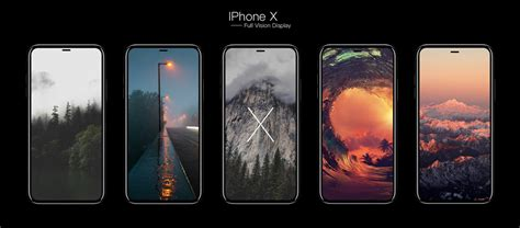 concept imagines iphone   full vision display