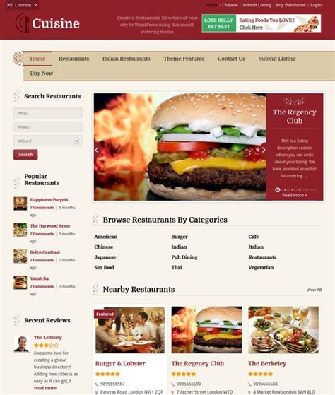 wordpress homepage layout manager 17 best images about 13 of the best directory wordpress