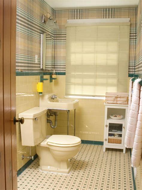 Redecorating a 50s bathroom hgtv