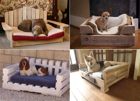 diy dog beds diy pallet dog bed the whoot