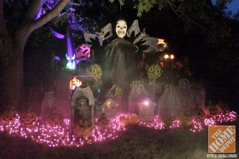 halloween decorating ideas   yard  home depot