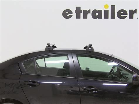 Subaru Impreza Roof Rack Installation by Thule Roof Rack For 2010 Subaru Impreza Etrailer