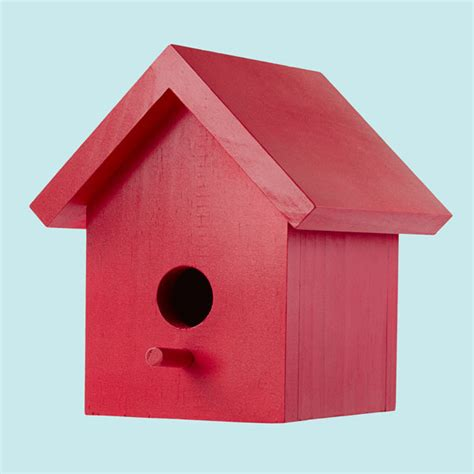 easy bird house easy one board bird house plans